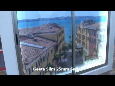 Geeta Series - 25mm Slim Sliding WIndow