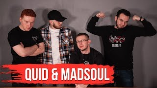QUID & MADSOUL - Про BACK 2 BEAT, баттлы, сериалы и книги / Battledudes #6