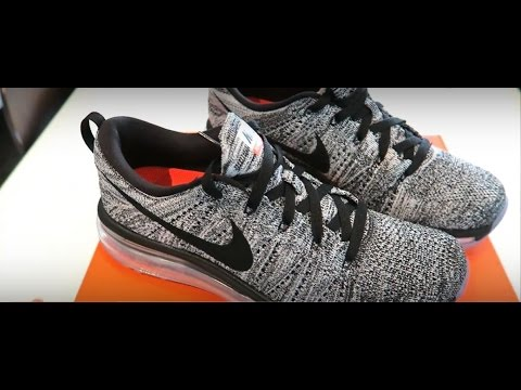 HD Close up Nike Air Max 360 Flyknit Oreo