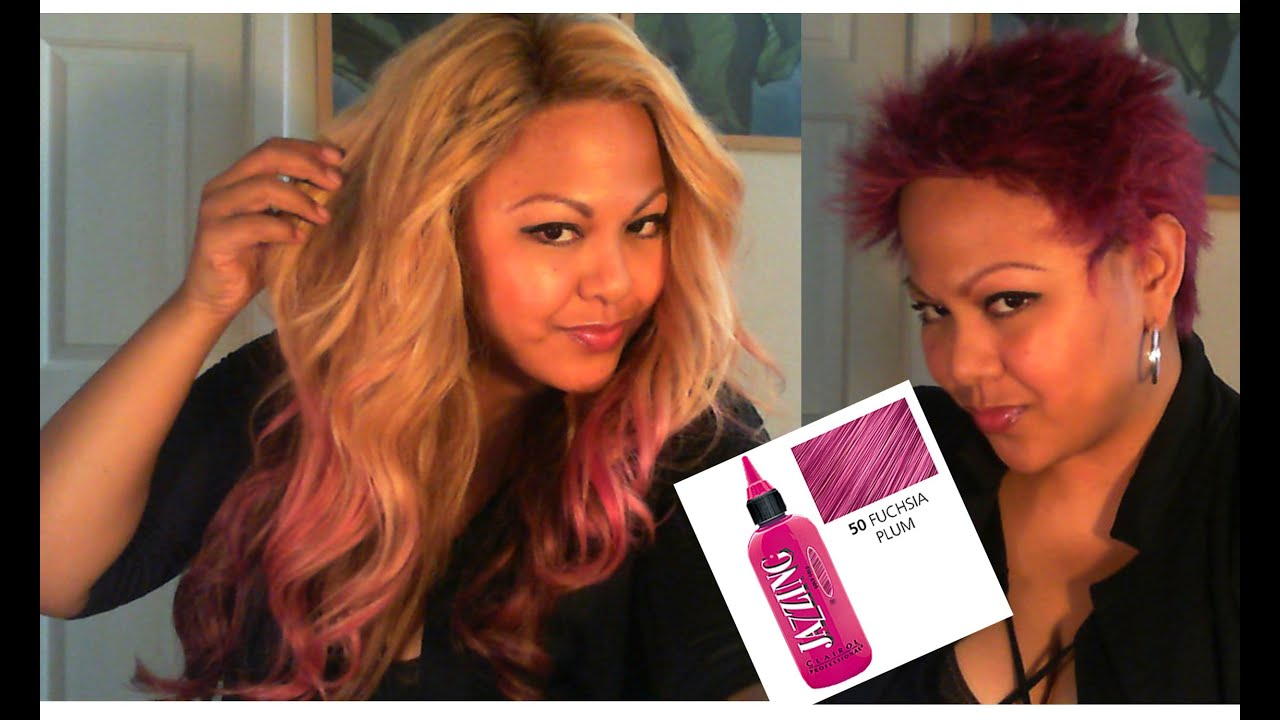 Pink Hair: Removing Jazzing Temp Color UPDATE - YouTube