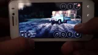 SpinTires 2014 на телефоне Huawei Honor [Android 4.0.3]