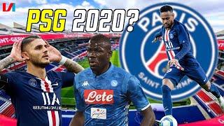 PSG 2020: Grote Favoriet Voor De CL Dankzij Di Maria, Neymar, Mbappé & Icardi!