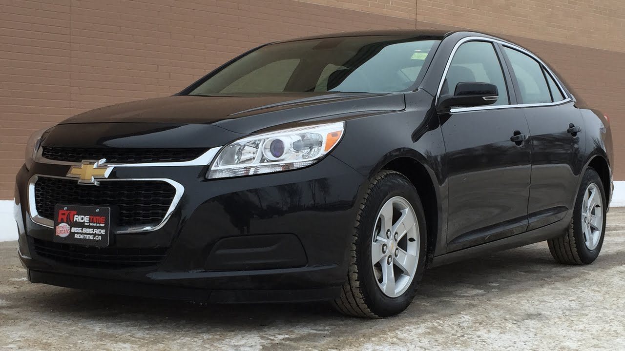 2015 Chevrolet Malibu Lt Alloy Wheels Chevy Mylink Xm