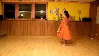 12 step (4 clap 3 spin dodhiyu variation) garba with Vidya Nahar