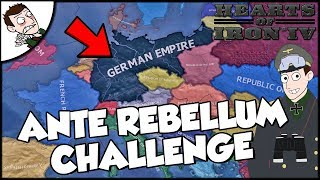 Trying to Win on the Ante Rebellum Mod Hearts of Iron 4 hoi4 Gameplay