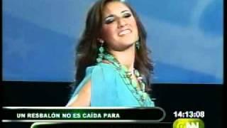 Candidata a Reina de Guayaquil sufrió u...