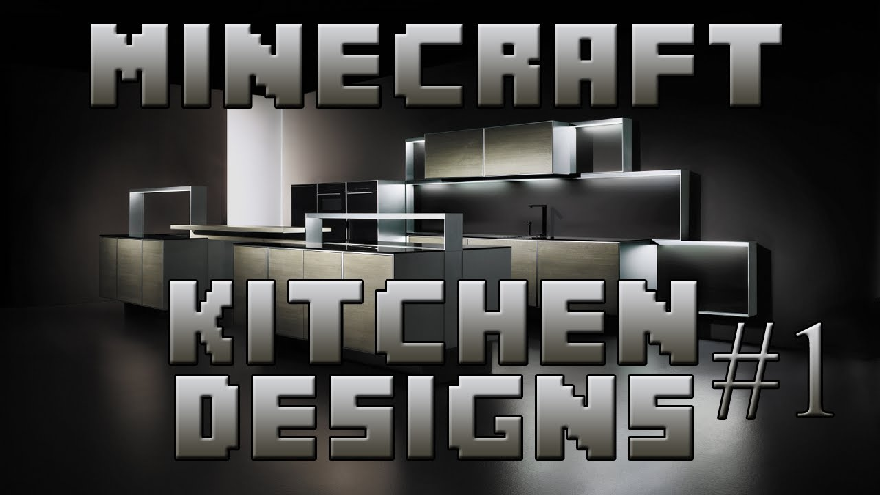 Minecraft interior designs episode 1 kitchen designs for Kitchen ideas minecraft