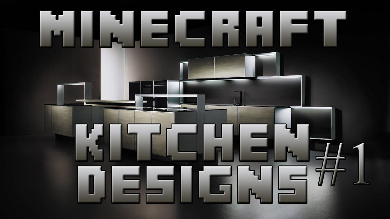 Minecraft Interior Designs Episode Kitchen Designs Youtube