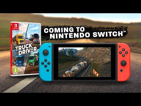 Truck Driver kommer till Nintendo Switch Är du redo att bli kung på vägen?