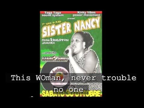 cc BAM BAM  Sister Nancy
