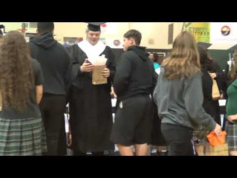 Luke Rougeau's Baccalaureate Service Hamilton Christian Academy