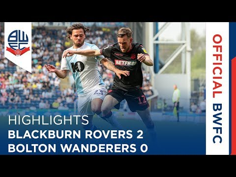 HIGHLIGHTS | Blackburn Rovers 2-0 Bolton Wanderers