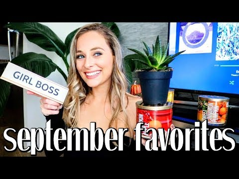 2017 SEPTEMBER FAVORITES | Law of Attraction Concept, Fall Candles, Salad Cutter Bowl + More