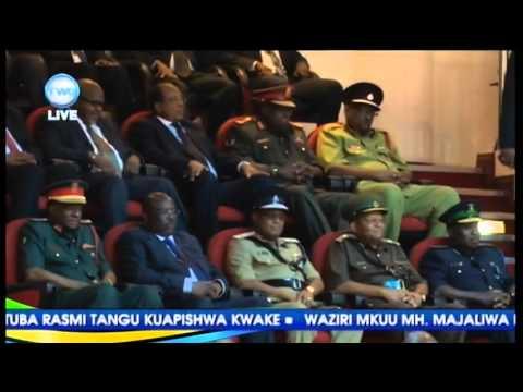 Rais Magufuli Ahutubia Na Kufungua Bunge