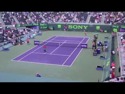 Serena At Sony Open 2014
