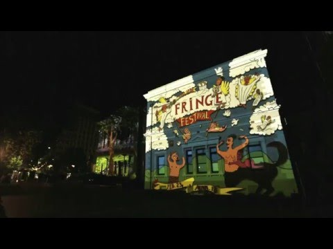 Adelaide Fringe Illuminations at the State Library