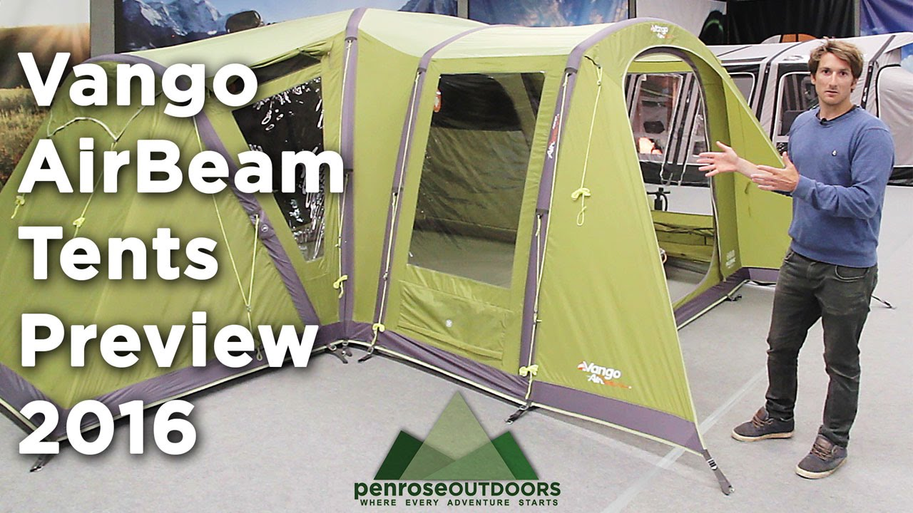 sc 1 st  YouTube & Vango AirBeam Tents for 2016 Preview - YouTube