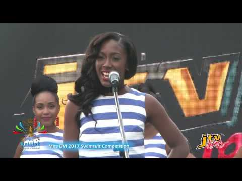 MISS BVI 2017 SWIMSUIT COMPETITION