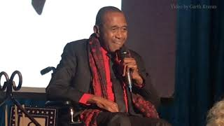 Ben Vereen sings FOR GOOD to Andre De Shields at the 28th Oscar Hammerstein Awards Gala