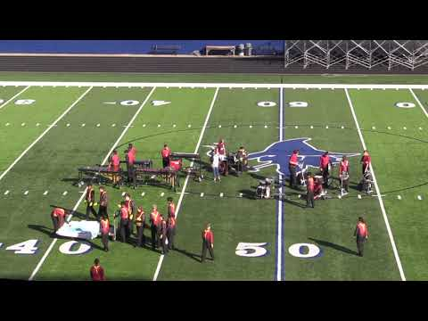 Gentry High School Band  performs