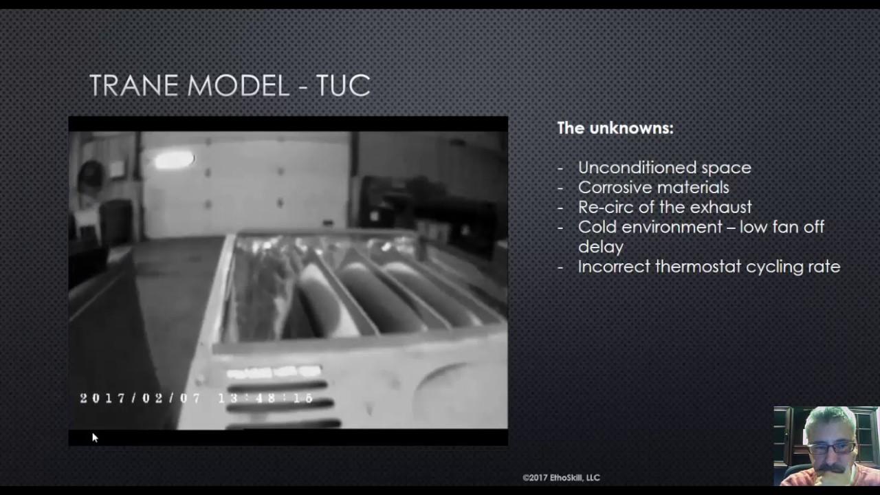 Trane Furnace - Heat Exchanger Failure - YouTube
