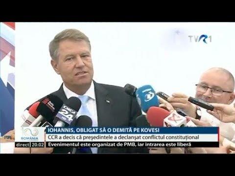 Klaus Iohannis este obligat să o demită pe Laura Codruţa Kovesi, conform deciziei CCR