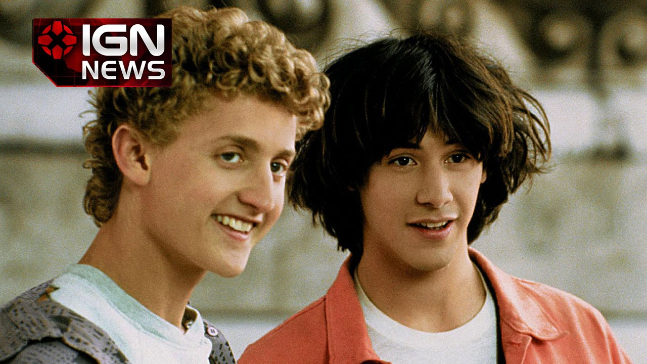 Keanu Reeves Says Bill Ted 3 Is Closer But Not Closer Ign News