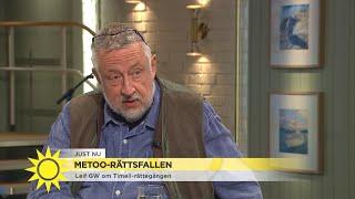 """Leif GW Persson """"90% av metoo-anmälningarna är inte påhittade"""" - Nyhetsmorgon (TV4)"""