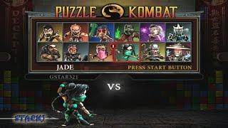 Mortal Kombat : Deception - Puzzle Kombat Playthrough (PS2)