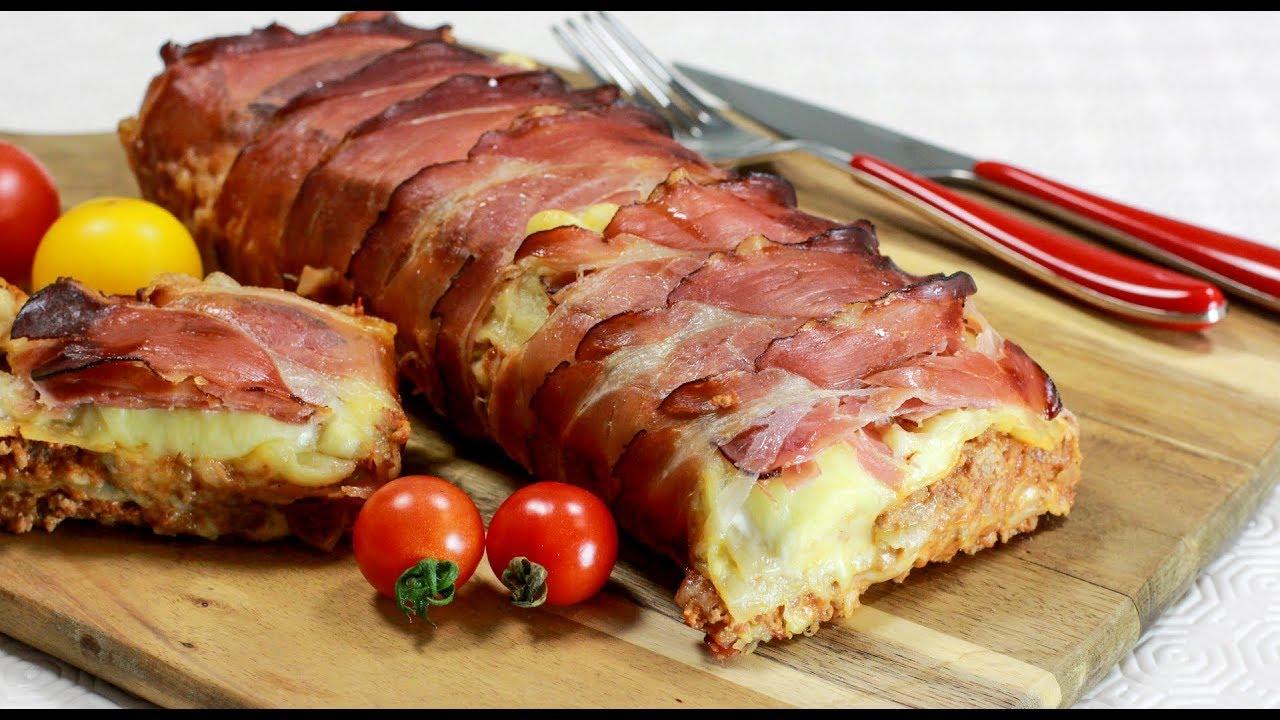 Bacon Lasagne Herzhaft Und Knusprig Youtube