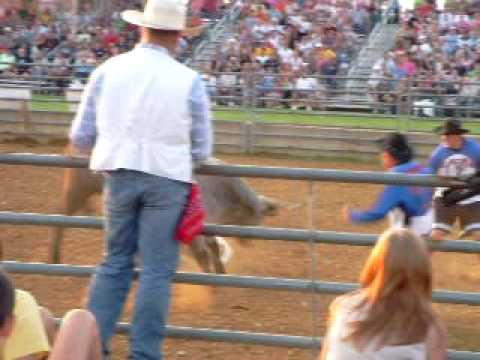 Rick Gettle - Bull Riding (Lebanon Fair 2009)