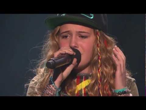 """Bea Miller """"White Flag"""" - Live Week 4 (Sing-Off) - The X Factor USA 2012"""