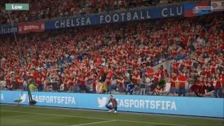 Graphic comparison FIFA 17 Ultra-Low/Comparação Gráficos Fifa Ultra-Baixo
