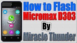 Micromax Bolt D303 Flash