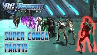 DC Universe Online: LAST MINUTE SUPER CONGA PARTY!