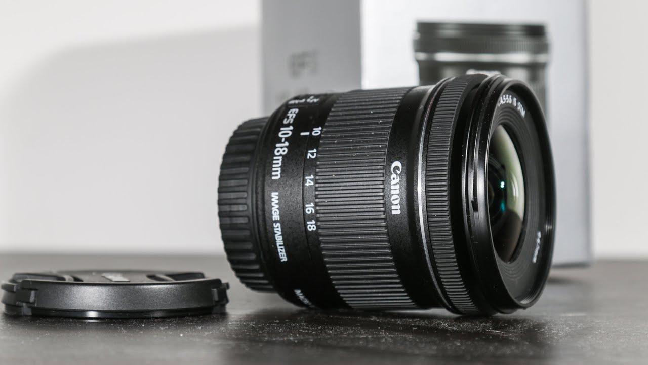 Canon EF-S 10-18mm IS STM Test (German/Deutsch) - YouTube