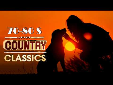 Best Classic Country 1970s 1980s   Greatest Top Old Country Music Songs 70s 80s