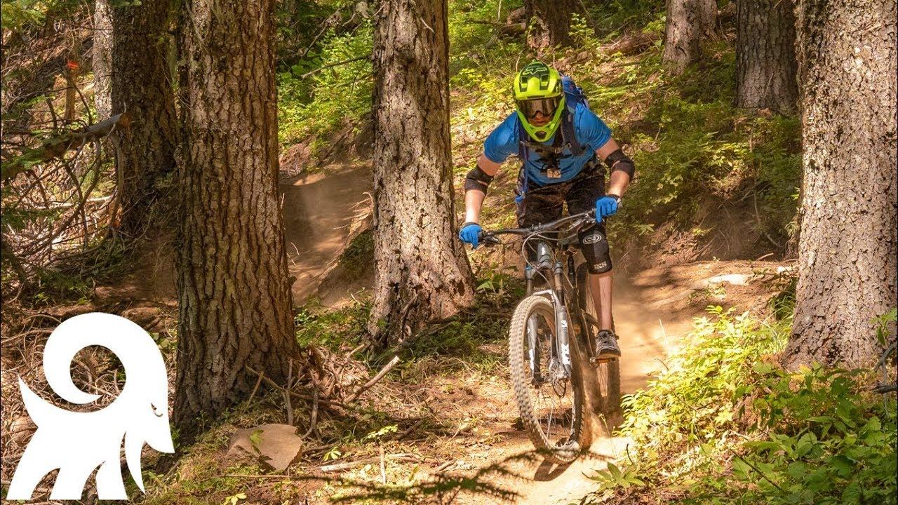 "Mountain Biking Trail 290 ""The Goods"" at Mount Spokane ..."
