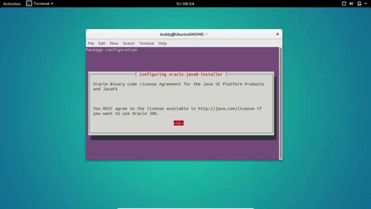 Java-Buddy: Install Oracle Java 8 on Ubuntu 15 10 via ppa:webupd8team