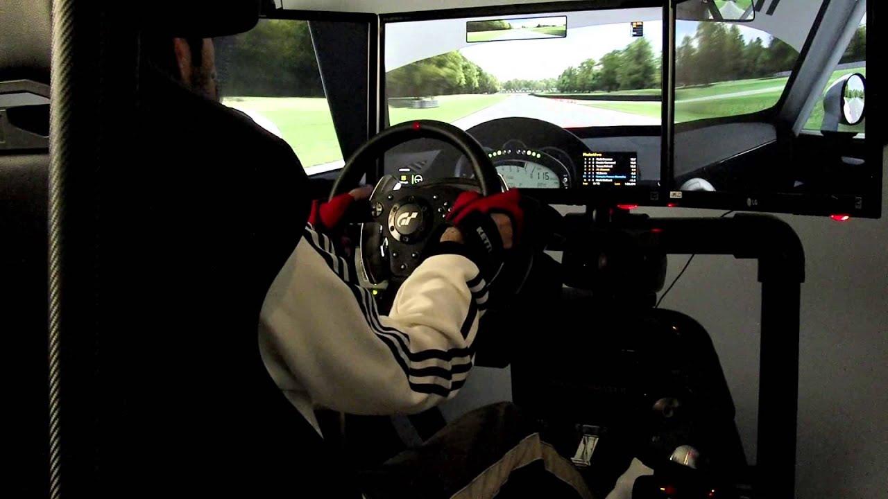 Pvc Racing Sim Rig Iracing Mazda Mx 5 Summit Point