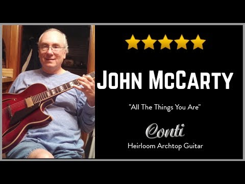 All The Things U Are - John McCarty