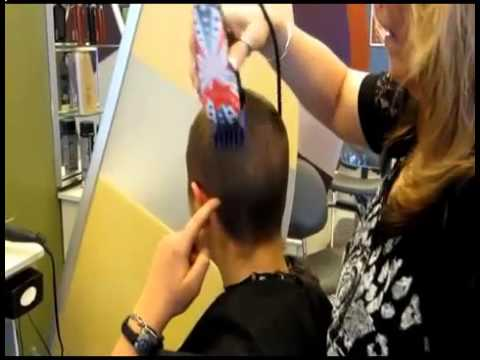 Women headshave new hair styles