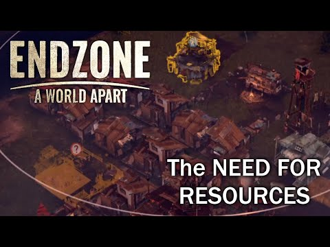 Can't Get Enough Resources!! | EndZone A World Apart First Impressions |
