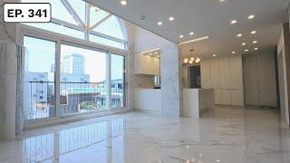 순백의 하얀색으로 예쁘게 물들여진 오픈형 파주복층빌라