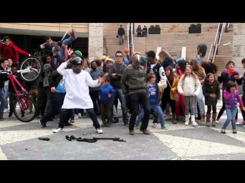 Harlem Shake_Escola José Estevão no Forum Aveiro