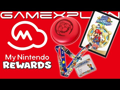 New PHYSICAL Rewards for My Nintendo Available Now! (Mario 3D All-Stars & Mario Kart!)