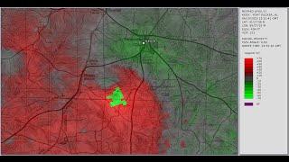 Doppler Radar - Abbeville Alabama tornado - April 19, 2015