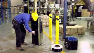 City Water International Inc Canada:  Water Cooler   Water Filtration Installation Video