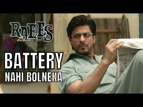 Battery Nahi Bolneka   Raees - Dialogue Promo   Shah Rukh Khan   Nawazuddin Siddiqui
