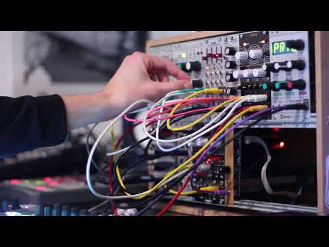 Modular Patch #4 - Mutable Instruments Rings and Clouds